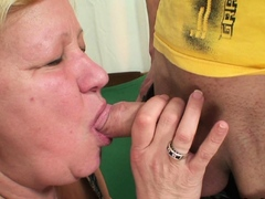 Fucked an old woman in her pussy