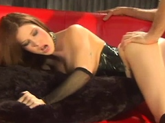 Allie Sin Bdsm Oral Sex And Fucking Jizzed On