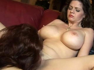 Hot lesbo matures June Summers and Sexy Vanessa went ahead