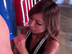 JAVHUB Japanese stripper Ryoko Sawajiri wants it bad