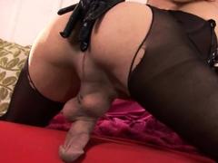 brunette-tranny-jerking-in-hard-dick-in-solo-webcam
