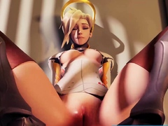 These Video Games 3D Girls Loves a Huge Long Dick