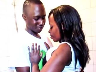 Amateur African Couple Shower Sex Tape