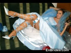 Real Life Slutty Brides!